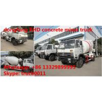 2017s RHD 4*2 6M3 concrete mixer truck for sale, high quality and best price DONGFENG 6m3 cement mixer truck for sale Manufactures