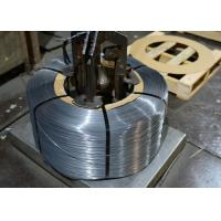 1.7272mm Special High Carbon Patented Wire , bright flat spring wire Manufactures