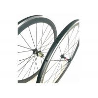 Quality 271 372 Hub Carbon Alloy Wheels Clincher Matte / Glossy Finishing With Alloy for sale