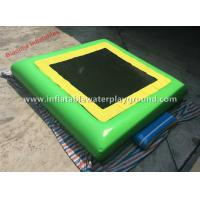 Large Inflatable Floating Bouncer Aqua Jump Water Trampoline Sport Games Manufactures