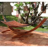 Good Quality Pine Wood Free Standing Hammock Manufactures