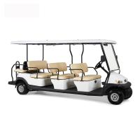 Electric 48V 12 Seater Golf Cart , Battery Powered Club Car Electric Golf Cart Manufactures