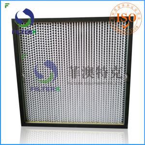 Class Aluminum Foil Gas Turbine Filters Box Type F9 Efficiency Foe Shot Blast Manufactures