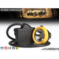18000 Lux Coal Miners Headlamp, 7800mA Safety Waterproof Cap Lamp For Mining Manufactures