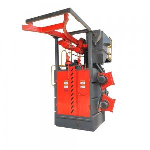 Q378 Hook Type Shot Blasting Surface Cleaning Machine for Car wheels cleaning rust remove Manufactures