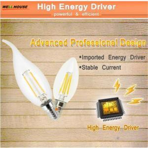 LED Candle Light E14 Filament Light Dimmable Glass Lamp C35 C35L 220V 240V 4W 8W Bulb Antique Retro Vintage Edison Led Manufactures