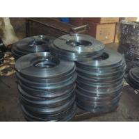 cold - rolled electrical heat Prime packing Blue Steel Packing Strip / Strap Manufactures