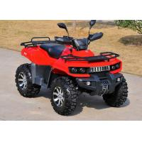 Single Cylinder Youth Racing ATV 400cc Off Road Four Wheelers With Strong Light Manufactures