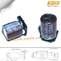 Buy cheap 50V 100uF 8x10mm SMD Capacitors VKO Series 105°C 6,000 ~ 8,000 Hours SMD Aluminum Electrolytic Capacitor  RoHS from wholesalers