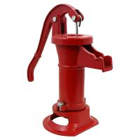 China Eco Friendly Cast Iron Pitcher Pump Hand Old Fashioned Water Pump Transparent on sale