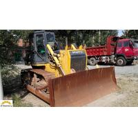 Original Colour Shantui SD13 Bulldozer , Mini Crawler Dozer Second Hand Manufactures