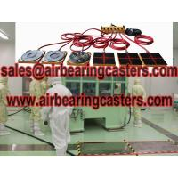 Air bearings for transporting heavy cargo brief introduction Manufactures