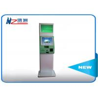 Metal Terminal Self Service Kiosk Touch Screen Top Up Kiosk Customized Manufactures