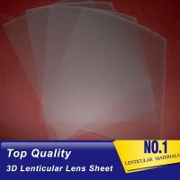 China PLASTICLENTICULAR 75 LPI lenticular lens 3d PP lenticular sheet 0.45mm plastic 3d lenticular film for promotion sale on sale
