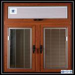 Aluminium Sliding Window Aluminium Window Extrusions With Mosquito Screen / Vertical Aluminum Louvers Manufactures