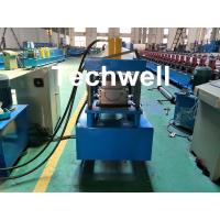 Custom Made Half Round Gutter Cold Roll Forming Machine For 15 Stations Forming Stage Manufactures