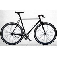 All Black Fixed Gear Single Speed Bikes Alloy Frame Bicycle With CE Certification Manufactures