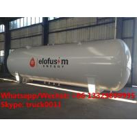 Buy cheap 2019s best price new 20MT bulk propane gas storage tank with safety accessories from wholesalers