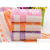 Fashionable Home Spa Towel Dye Yarn , Face Wash Cloths Durable Manufactures