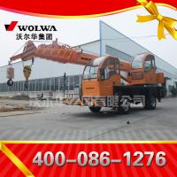 China manufacturer small wheel crane truck mounted crane with telescopic GNQY-z490 Manufactures