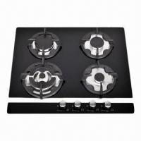 China Glass Gas Stove, Built-in Hob with 4 Burners  on sale