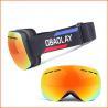 Buy cheap Polarized Lens Magnetic Frameless Designer Best Mirrored Snowboard Glasses from wholesalers