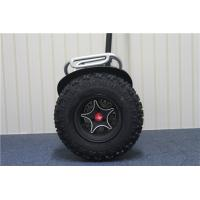 Quality Large Battery Powered Off Road Electric Scooter Black For Adult for sale