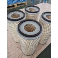Industrial Cellulose Micron Pleated Suction Compressor Air Filter For Dust Collecting Manufactures