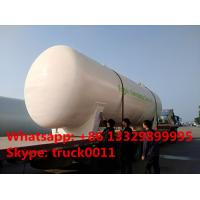 Quality best price CLW brand stationary bullet type 50,000L surface lpg gas storage tank for sale, 50m3 surface propane gas tank for sale