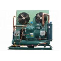 Commercial Bitzer Condensing Unit , Bitzer Semi Hermetic Reciprocating Refrigeration Compressor Compact Structure Manufactures