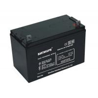 12V 100Ah Rechargeable Sealed Lead Acid Battery For Power Systems Manufactures