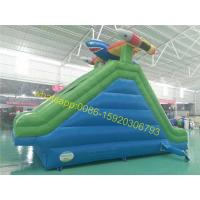 Quality shark samll kids pool water slide for sale