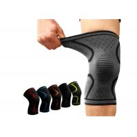 Fitness Running Cycling Compression Knee Brace Elastic Nylon Sport For Basketball Manufactures