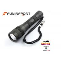 Underwater 150 Meters 1200LMs LED Flashlight Scuba Diving Lights  Manufactures
