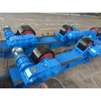Rotary Capacity 40 Ton Tank Turning Rolls / Conventional Welding Rotator Manufactures