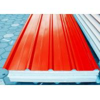 Orange Prepainted Galvanized Steel Coil With Hot Dipping Processe Manufactures