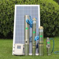 solar water pump for agriculture farm irrigation water solar submersible pump Manufactures