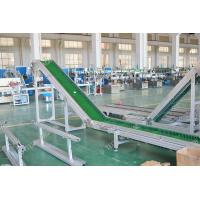 Table Industrial Conveyor Belts  Small Customs Data Speed Adjustable 2.2KW Manufactures