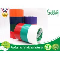 Black / Red / White PE Coated Cloth Adhesive Tape For Decorative Masking Manufactures