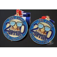 Buy cheap Custom Tom's Run 2018 Sport Metal Award Events Medals, Metal And Color Medallion from wholesalers