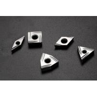 China Low Cutting Force Pvd Coated Inserts / Perfect Surface CNC Turning Tool Inserts on sale