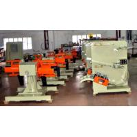 Motor Drive De Coiler Machine , Automatic Double Mandrel Hydraulic Decoiler Manufactures