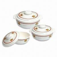 Melamine Bowls with Lids, Suitable for Promotional and Gift Purposes, FDA-marked Manufactures