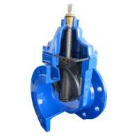 PN10 DIN 3352 EPDM / NBR Resilient Seated Gate Valve , Temperature -20~120 C for sale