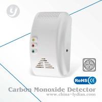 AC Powered CO Alarm Detector Visible Portable Alarm 85dB Work With Fan Manufactures