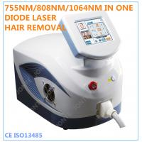 Professional Home Laser Hair Removal Machine With 10 Laser Bars Manufactures