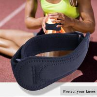 Durable Sports Safety Products Medical Knee Strap Brace Patella Support Safety pad Manufactures