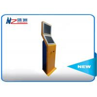 Quality Coin counting touch screen kiosk  with cash acceptor all in one optional POS terminal for sale