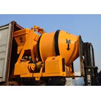 Ready Mix Electrical Reserve Drum Mobile Concrete Mixer With Low Energy Consumption Manufactures