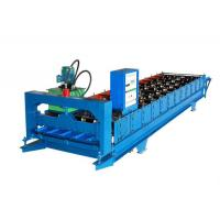 Color Coated Wall Panel Roll Forming Machine , Roofing Sheet Making Machine Manufactures